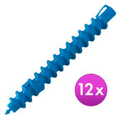 BHK Spiralwickler Mittel, Ø 12 mm, 16 cm lang, Pro Packung 12 Stück