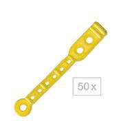 BHK Flexofix-Languettes élastiques brevetées Adaptés pour bigoudis courts., Par paquet 50 pièces