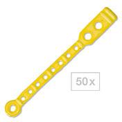 BHK Flexofix-Languettes élastiques brevetées Longues, pour les bigoudis normaux., Par paquet 50 pièces