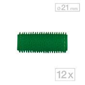 Biovan Rouleaux agrippants-Magic Vert, Ø 21 mm, Par paquet 12 pièces