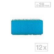 Biovan Rouleaux agrippants-Magic Bleu clair, Ø 28 mm, Par paquet 12 pièces