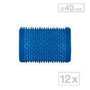 Biovan Rouleaux agrippants-Magic Bleu, Ø 40 mm, Par paquet 12 pièces