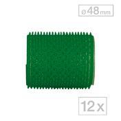 Biovan Rouleaux agrippants-Magic Vert, Ø 48 mm, Par paquet 12 pièces