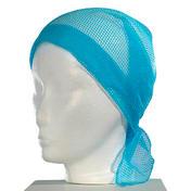 BHK Voilette mise en plis en nylon Bleu clair