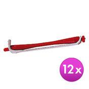 BHK Meister Dauerwellwickler Rot, Ø 3 mm, Pro Packung 12 Stück