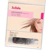 Solida Ultra-Stretch Knotennetze Dunkel, Pro Packung 2 Stück