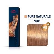 Wella Koleston Perfect ME+ Pure Naturals 9/01 Lichtblond Natur Asch, 60 ml
