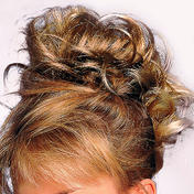 Solida Bel Hair Fashionring Kerstin Mittelblond-Hellbraun gesträhnt