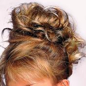 Solida Bel Hair Fashion Ring Kerstin Medium blond-lichtbruin gestreept