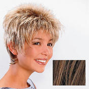 Ellen Wille Perruque en cheveux synthétiques Rimini Brun Clair méché
