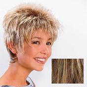 Ellen Wille Perruque en cheveux synthétiques Rimini Blond Foncé méché