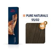Wella Koleston Perfect ME+ Pure Naturals 55/02 Hellbraun Intensiv Natur Matt 60 ml