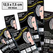 Dynatron Colora Highlight Strips Papier pour mèches 12,5⇥x⇥7,5 cm