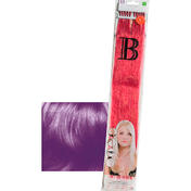 Balmain Fill-In Extensions Straight Fantasy Human Hair Dark Purple