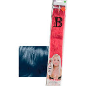Balmain Fill-In Extensions Straight Fantasy Human Hair Dark Blue