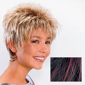 Ellen Wille Perruque en cheveux synthétiques Rimini Beaujolais méché
