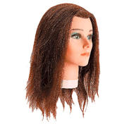 Bergmann Übungskopf Junior Haarfarbe Braun