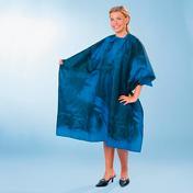 BHK Peignoir cabine Pure + Simple Bleu, noir