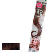 Balmain Fill-In Extensions Natural Straight 4 Medium Brown