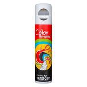 Fantasy Kleur Spuit Glitter zilver, inhoud 75 ml