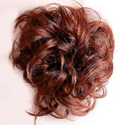 Solida Bel Hair Fashion Ring Kerstin Chocolade bruin