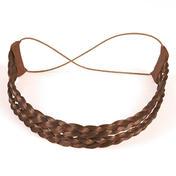 Solida Bandeau de cheveux artificiels Brun Clair
