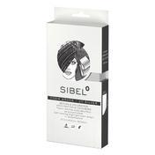 Sibel High-Light Foam Silber, 20 x 9,5 cm