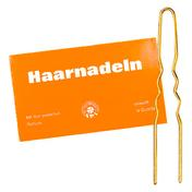 BHK Haarnadeln gewellt Goldfarben 25 x 10 Stück