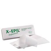 X-Epil Fleece stroken Kort, 23 x 7 cm, 100 stuks.