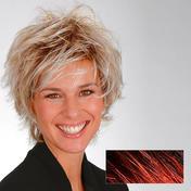 Gisela Mayer Perruque en fibre de Perruques en fibre de synthètiques Petra Beaujolais Foncé