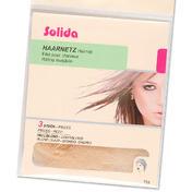 Solida Filets élastique en perlon blond clair, Par paquet 3 pièces