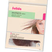 Solida Filets élastique en perlon brun foncé, Par paquet 3 pièces