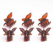 H+B Italia Pince papillon petit modèle Havane