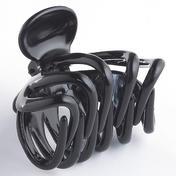 H+B Italia Pince à cheveux pieuvre grand modèle Noir