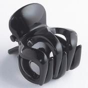 H+B Italia Pince à cheveux pieuvre petit modèle Noir