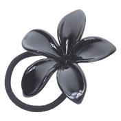 H+B Italia Elastique en caoutchouc fleur Noir