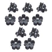 H+B Italia Mini-pince fleur Noir