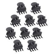 H+B Italia Mini Haarclipjes Zwart