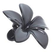 H+B Italia Zijsluiting bloem Zwart