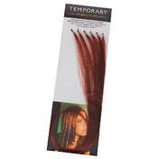 Dynatron Highlights en cheveux naturels Rouge châtain