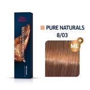 Wella Koleston Perfect ME+ Pure Naturals 8/03 Hellblond Natur Gold, 60 ml