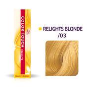 Wella Color Touch Relights Blonde /03 Naturel doré