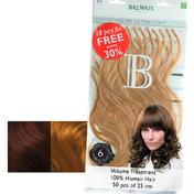 Balmain Fill-In Extensions Value Pack Natural Straight 20 Medium Pearl Blond