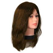 Bergmann Tête d'entraînement Teeny Natura Couleur de cheveux brun