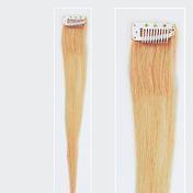 Solida Mèche en cheveux naturels Mini Stringy Jamie Bel Hair blond clair