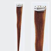 Solida Mèche en cheveux naturels Mini Stringy Jamie Bel Hair brun clair