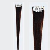 Solida Mèche en cheveux naturels Mini Stringy Jamie Bel Hair brun foncé