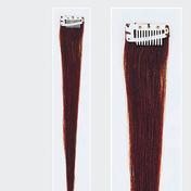 Solida Mèche en cheveux naturels Mini Stringy Jamie Bel Hair châtain