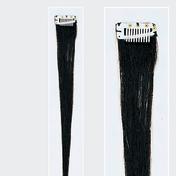 Solida Mèche en cheveux naturels Mini Stringy Jamie Bel Hair noir