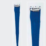 Solida Bel Hair Mini Stringy Jamie Echthaar-Strähne Royalblau
